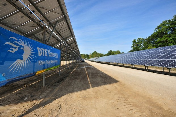 Dte Energy To Build One Of Largest Solar Arrays In Country