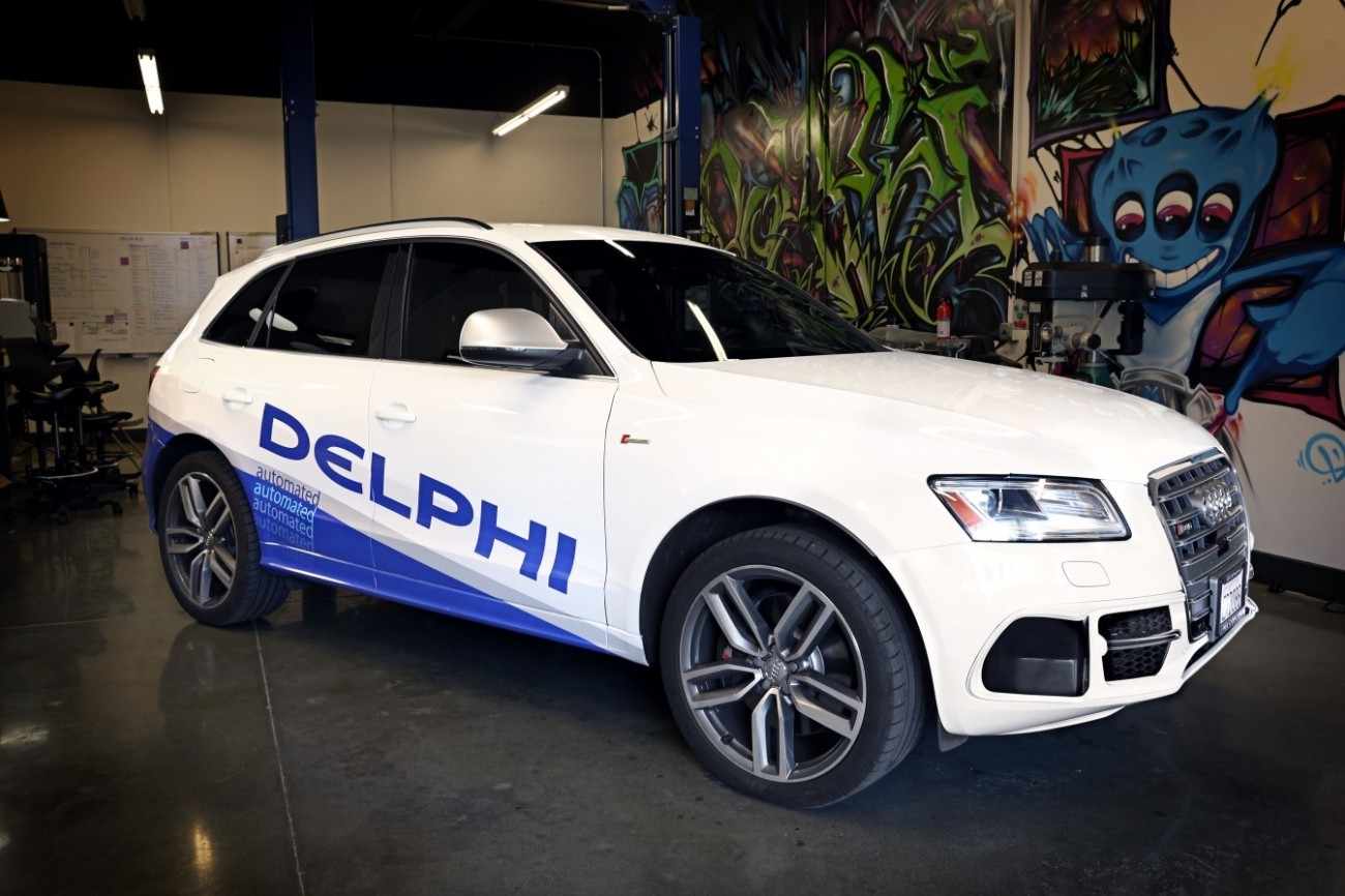 delphi mobileye seek fully driverless car by 2021 mitechnews. Black Bedroom Furniture Sets. Home Design Ideas