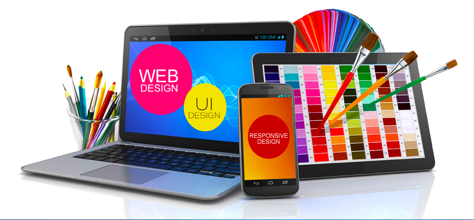 Web Design of a Business with Outsourcing Services