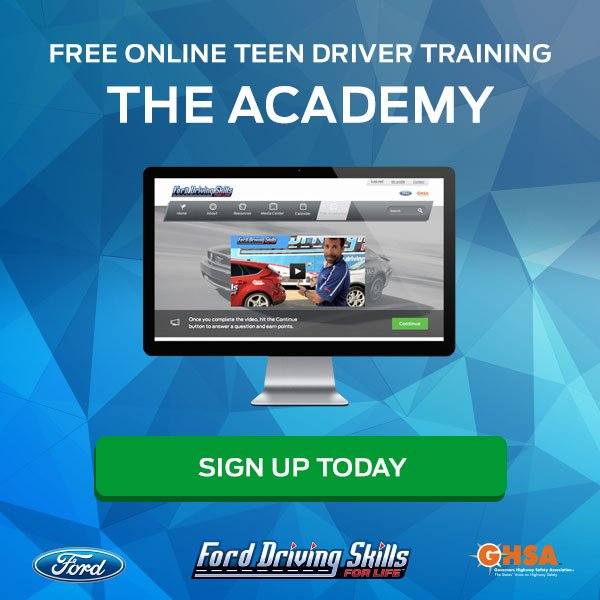 Ford Driving Skills For Life Uses Technology To Teach